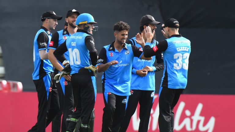 Worcestershire have reached their first Vitality Blast Finals Day