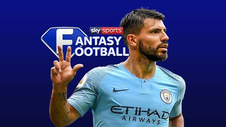 Sergio Aguero racked up 24 Sky Sports Fantasy Football points last weekend