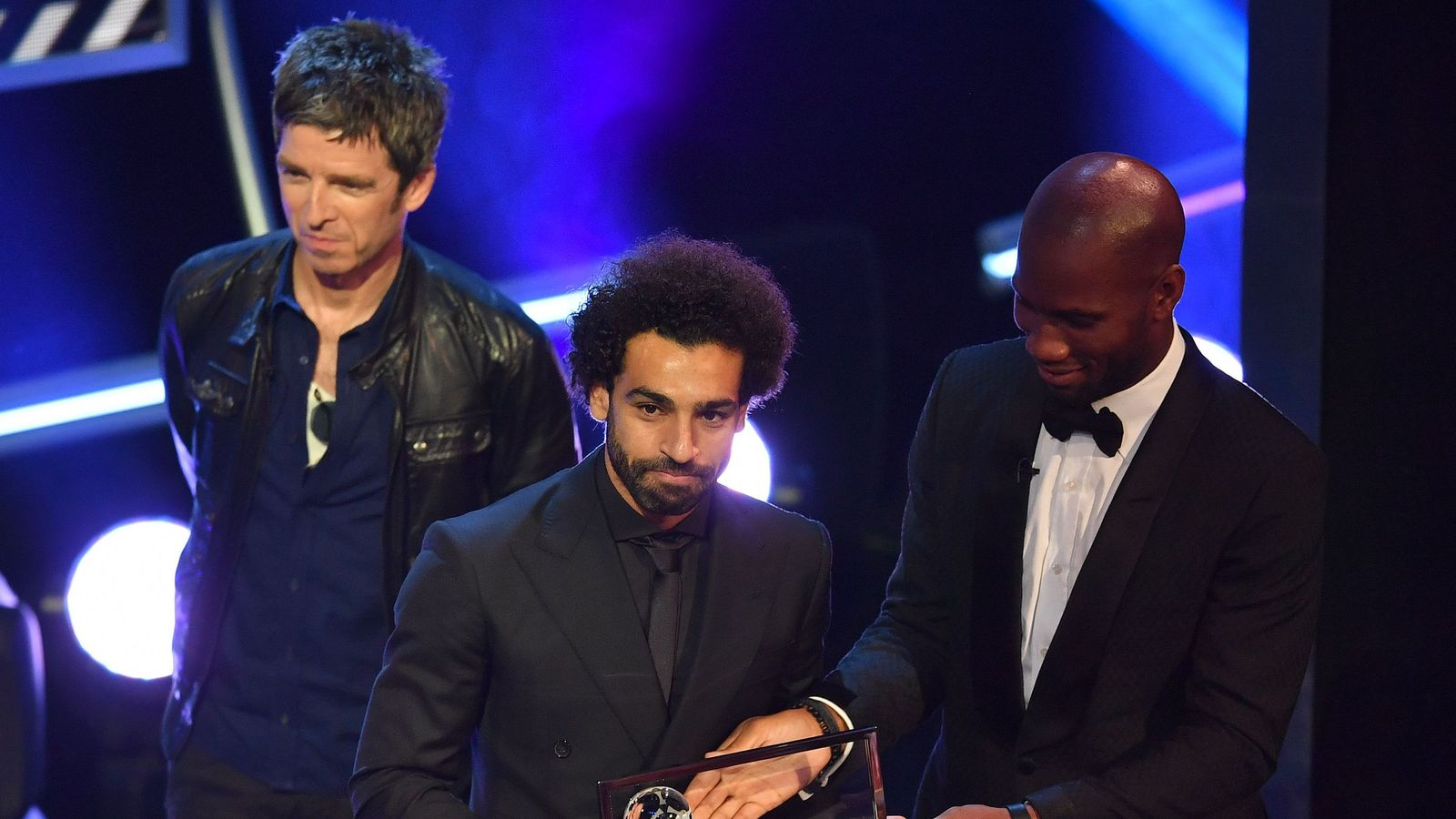 Mohamed Salah wins FIFA Puskas award for strike against Everton