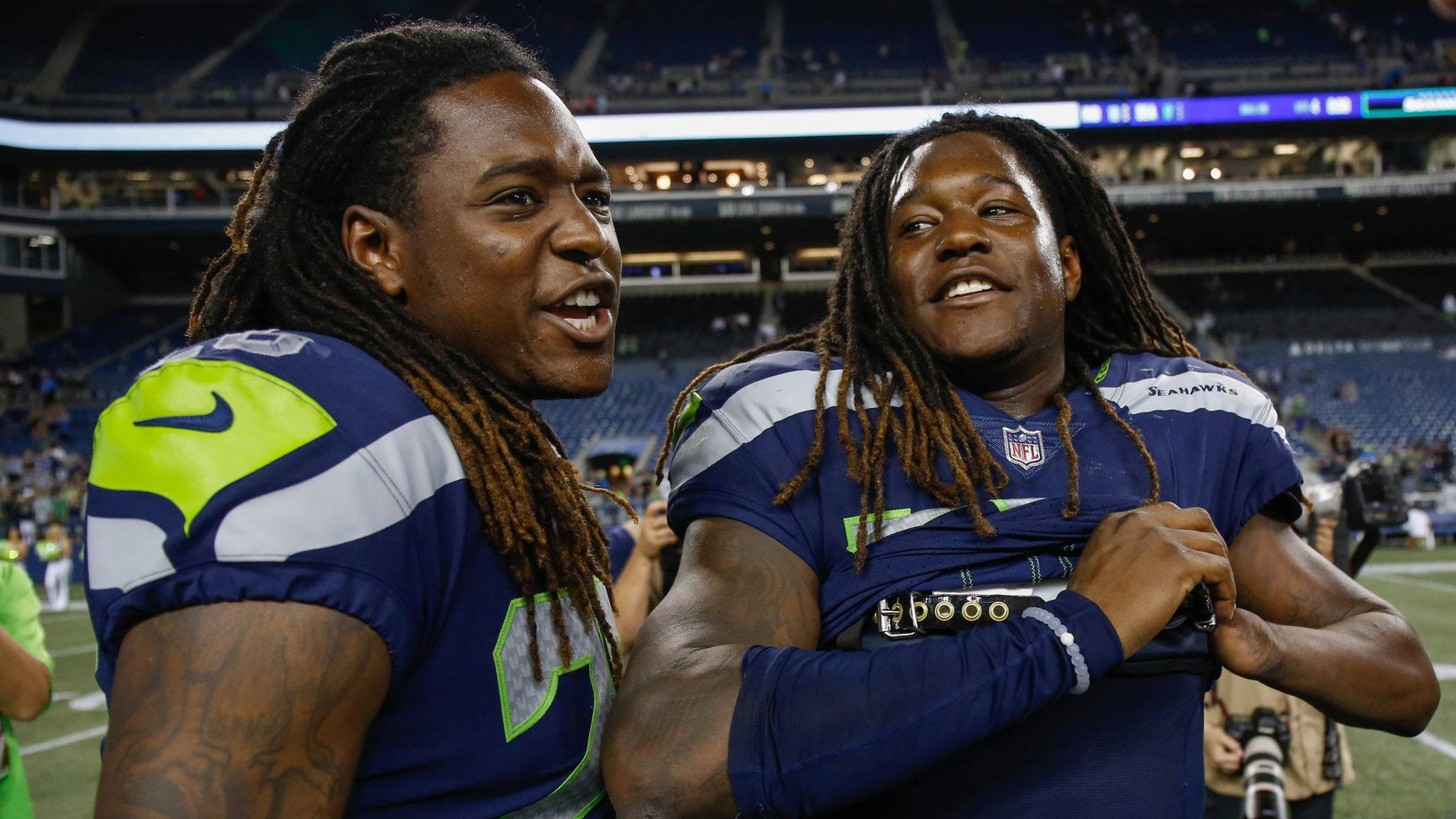 detailed look 1c60e 253ad Shaquem Griffin to start for Seattle Seahawks in week one ...