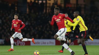 fifa live scores - Abdoulaye Doucoure out to subdue Manchester United's Paul Pogba