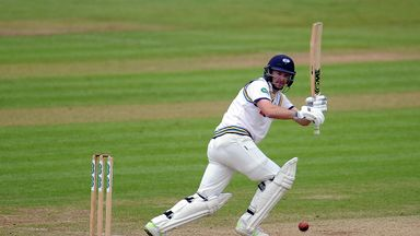 Adam Lyth ended unbeaten on 134 after no play was possible on day four