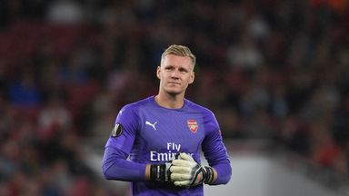 fifa live scores - Bernd Leno ready to fight for Arsenal No 1 spot