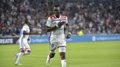 Former Chelsea striker Bertrand Traore scored twice as Lyon beat Marseille 4-2