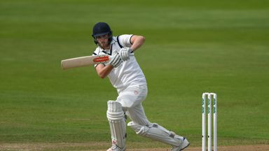 Dominic Sibley made 144no before the teams shook hands on a draw that confirmed Warwickshire