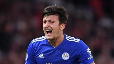 Claude Puel is considering resting Harry Maguire against Huddersfield