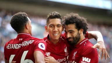 fifa live scores - Tottenham 1-2 Liverpool: Reds maintain perfect start
