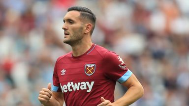 Lucas Perez could be handed a West Ham start