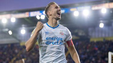Luuk De Jong scored for PSV