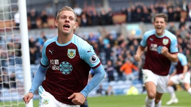 Matej Vydra set Burnley on their way to a one-sided win over Bournemouth at Turf Moor