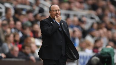 fifa live scores -                               Rafa hints at January review of position
