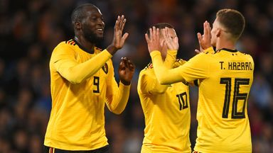Belgium join France at the top of the world rankings