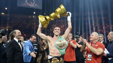 Smith wants a homecoming fight having won the World Boxing Super Series.