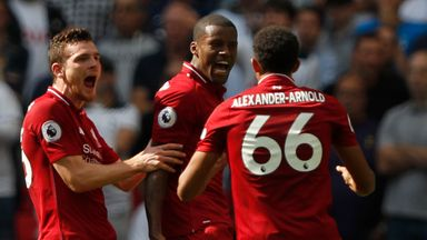 fifa live scores - Tottenham 1-2 Liverpool: Five talking points as Reds stay top