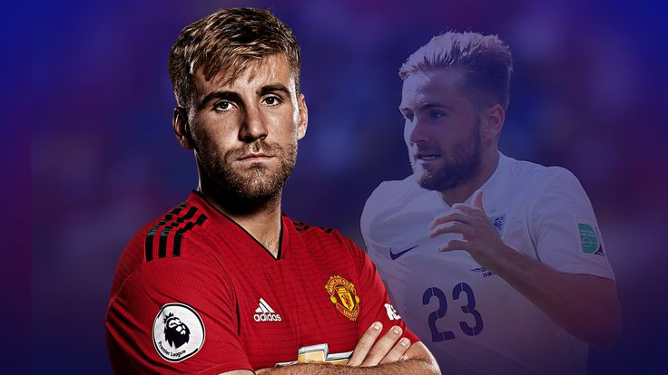 Luke Shaw is back in the England squad