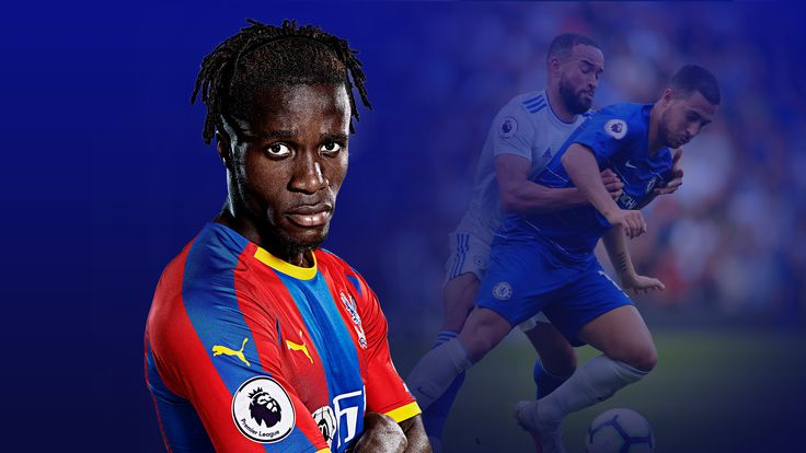 Wilfried Zaha and Eden Hazard are two of the best dribblers in the Premier League and two of the most targeted players
