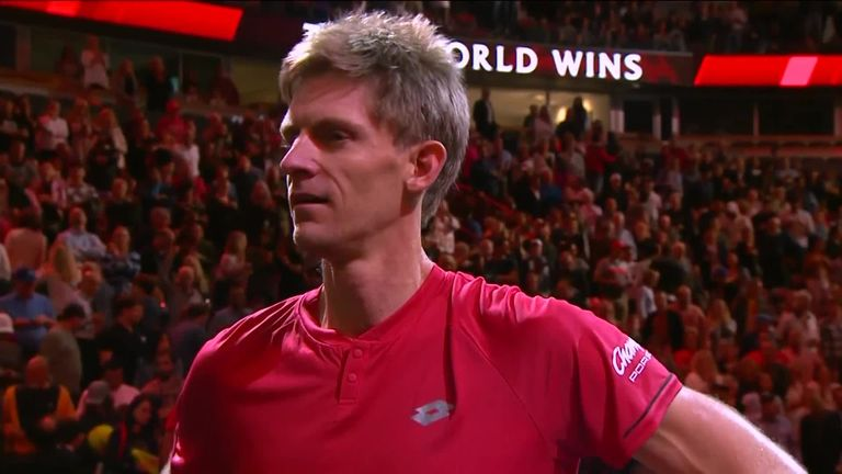 Anderson said it was a 'fantastic feeling' beating Djokovic at the Laver Cup