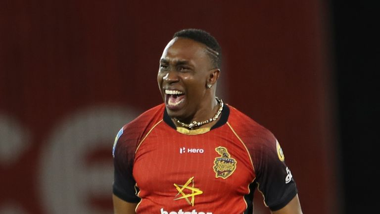 Dwayne Bravo is conspicuous by his absence from the squad