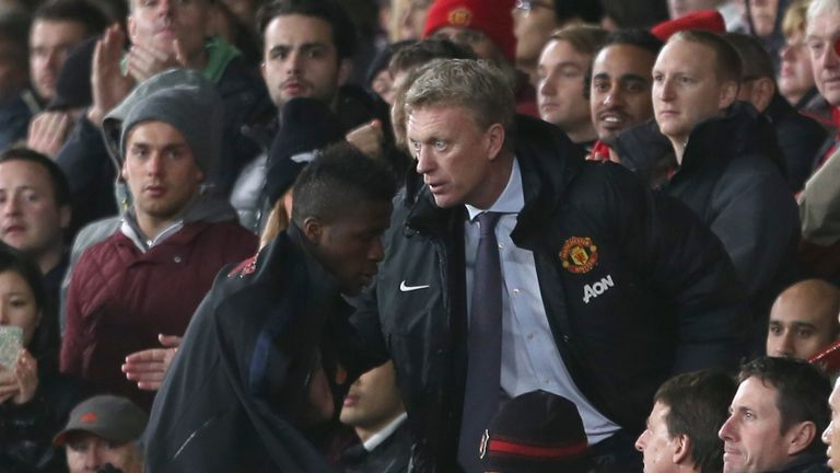 David Moyes was sacked after just 51 games in charge at Old Trafford