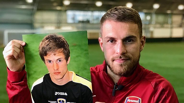 Ramsey speaks exclusively to Sky Sports ahead of the Super Sunday clash with Cardiff