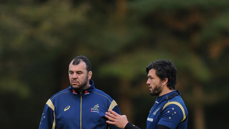 Ashley-Cooper retains a positive relationship with Wallabies head coach Michael Cheika