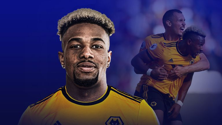 Adama Traore has made a flying start to his career at Wolves