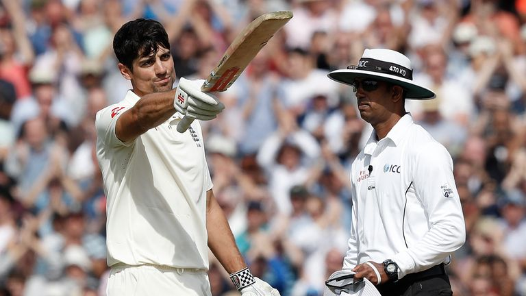 Sir Alastair Cook got the perfect end to his Test career with a century in his final innings