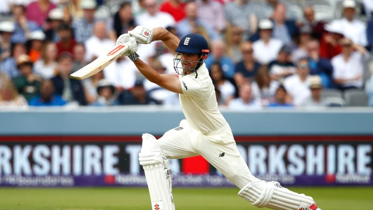 Nasser Hussain says Alastair Cook is England's greatest ever batsman