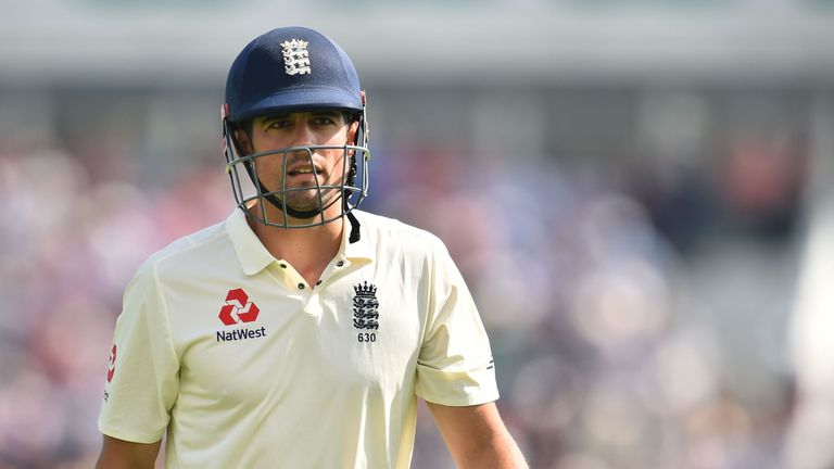 Cook averages 15.57 against India in the series so far