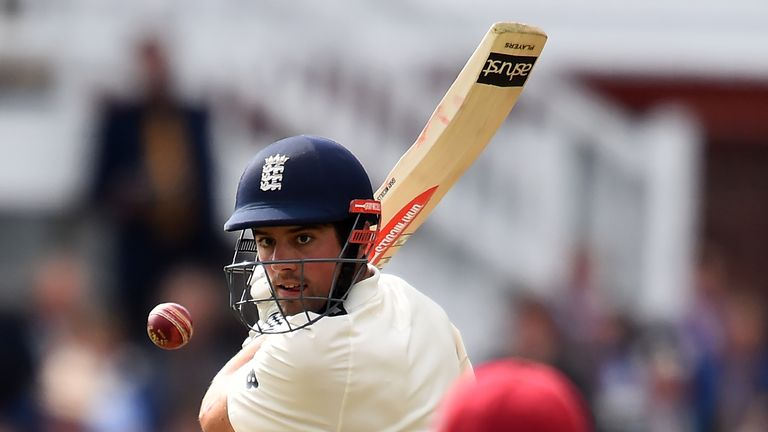 Cook scored 12,472 Test runs in his 161 Tests for England