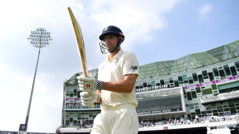 England opener Alastair Cook jokingly reveals a funny message he received from a friend following the announcement international retirement