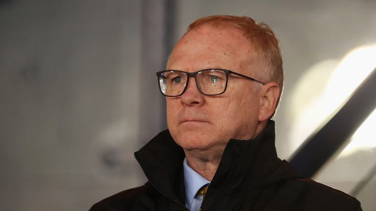 Alex McLeish, the current Scotland manager, led the side to a 2-0 victory over Albania in their most recent match