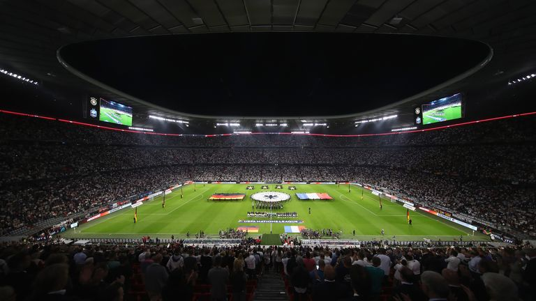 Munich's Allianz Arena could be hosting matches at Euro 2024