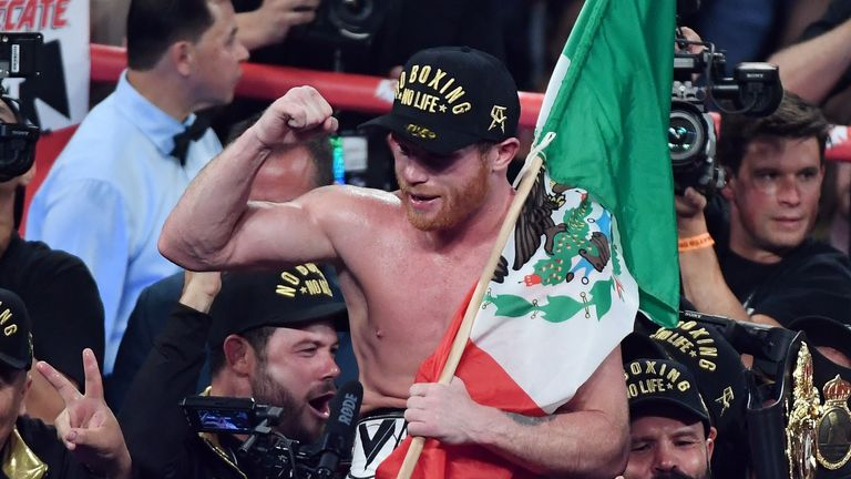 Canelo Alvarez Ready To Face 168lb Challenge Against Rocky Fielding