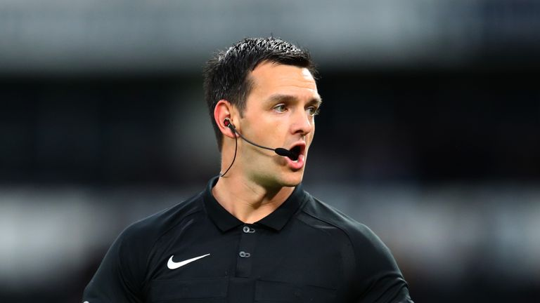 Andrew Madley is highly-rated by the Professional Game Match Officials Board