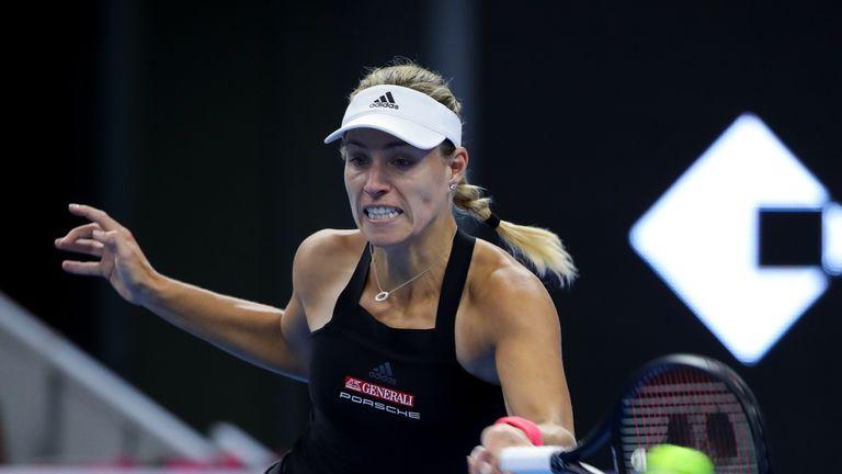 Angelique Kerber made a winning start in Beijing