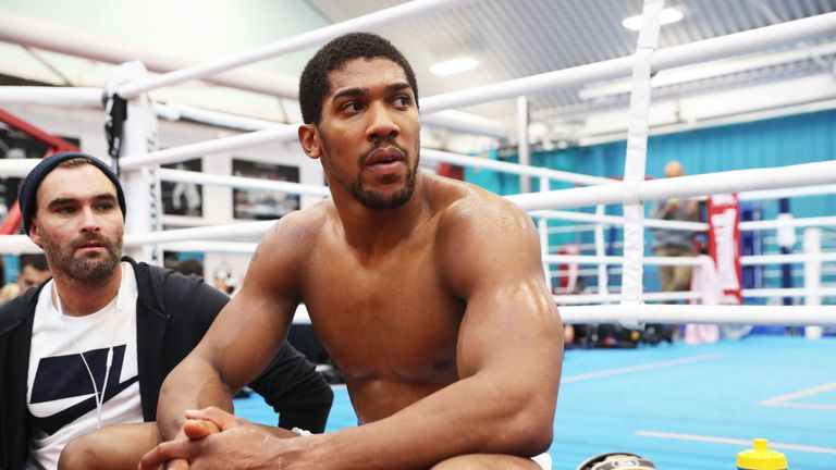 Joshua is still waiting to learn who he will fight at Madison Square Garden