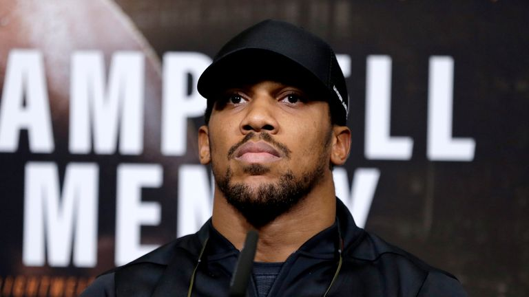 Anthony Joshua says Oleksandr Usyk should be the favourite against Tony Bellew