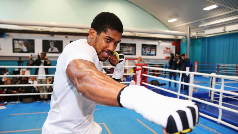 Anthony Joshua could be heading to America for his next world title fight