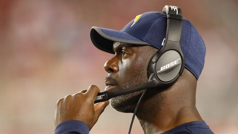 Chargers coach Anthony Lynn is preparing to face the Patriots