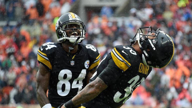 Antonio Brown remains one of the best receivers in the NFL