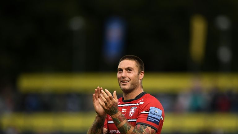 Matt Banahan notched a last-gasp try to salvage a draw against his old side