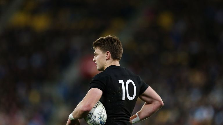 Beauden Barrett may have struggled off the tee, but is a world-class operator in general play