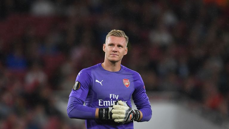 Bernd Leno Ready To Fight For Arsenal No 1 Spot