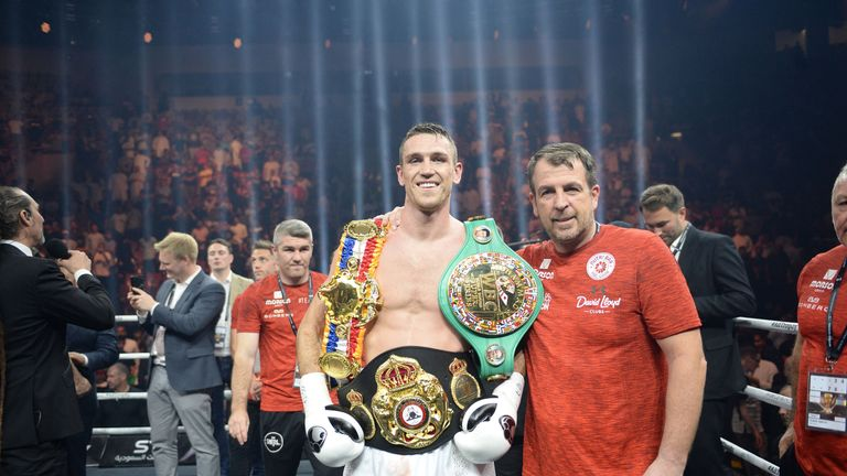 WBA champion Callum Smith is set to receive a shortlist of opponents