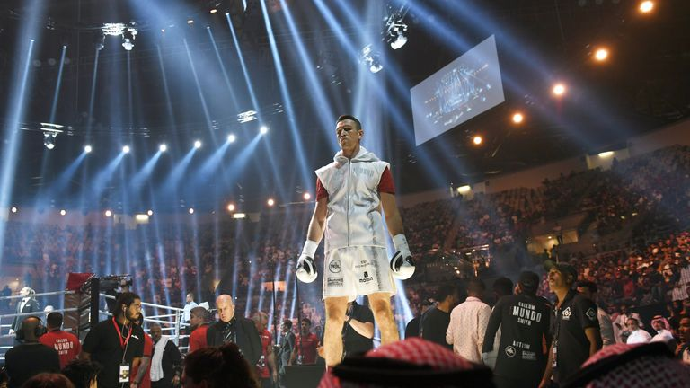 Callum Smith knocked out George Groves in the seventh round on Friday night