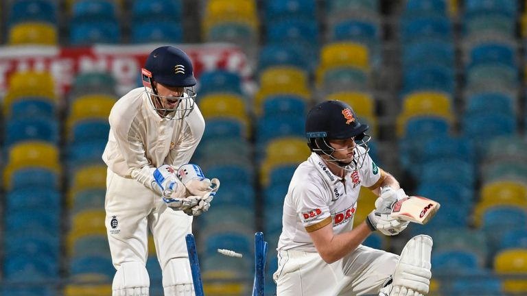 Callum Taylor made his first-class debut for Essex in 2015