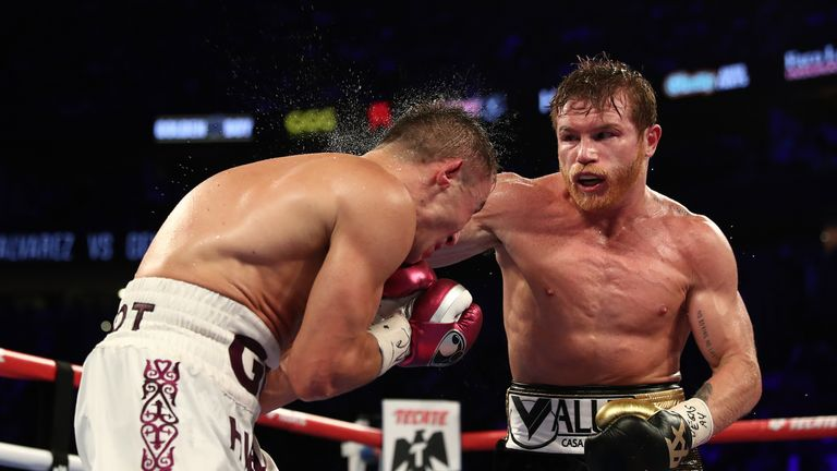 Alvarez received a points victory after his rematch with Gennady Golovkin