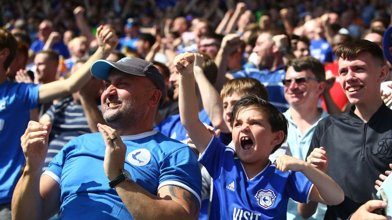 Cardiff expect a another full house for Saturday's game against Manchester City