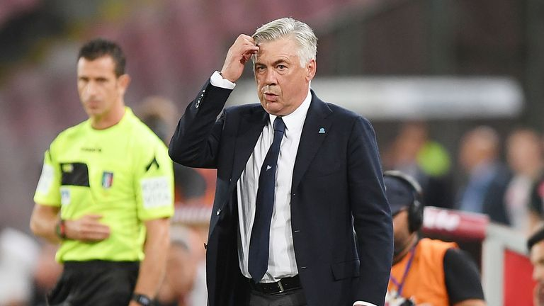Carlo Ancelotti suffered the first defeat of his Napoli tenure away at Sampdoria